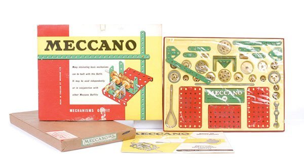 4015: Meccano No.3A Ex Shop Stock Outfit