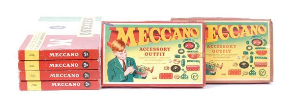 4016: Meccano Ex Shop Stock Outfits