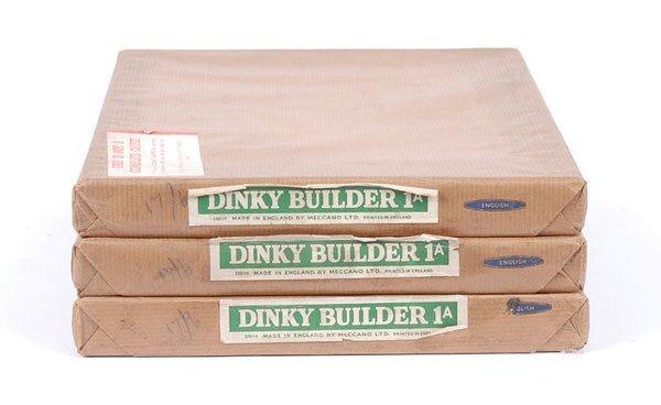 4019: Meccano Dinky Builder Sets No.1A x 3