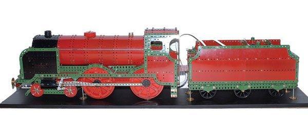 "4022: Meccano ""ETON"" Locomotive and Tender"