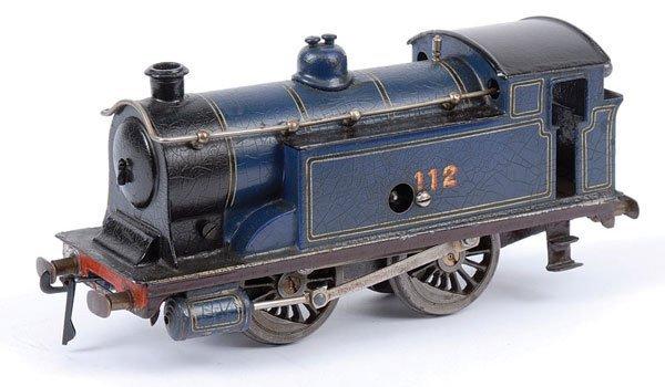4554: Bing 0-4-0 Tank Loco CR No.112, Clockwork