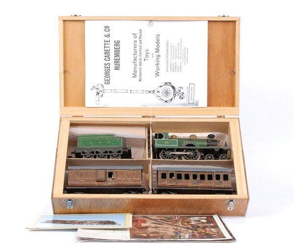 4584: Carette O Gauge Train Set