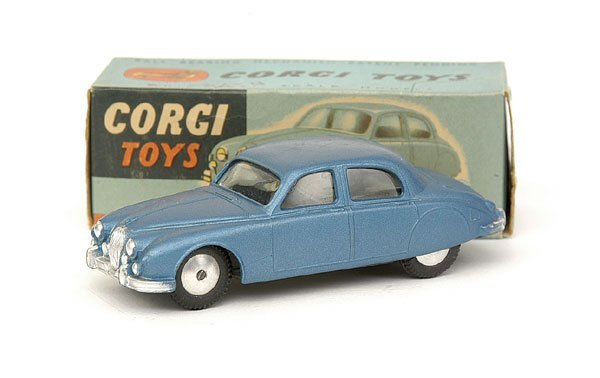 1503: No.208m Corgi Mechanical Jaguar 2.4 ltr