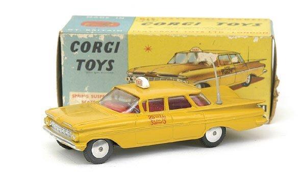 1509: No.221 Corgi Chevrolet mpala New York Taxi