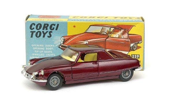 1514: No.259 Corgi Citroen Le Dandy Coupe