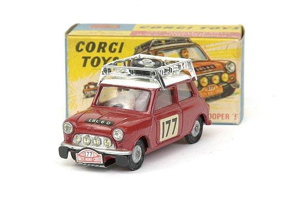 1516: No.339 Corgi 1967 Monte Carlo Rally Mini Cooper