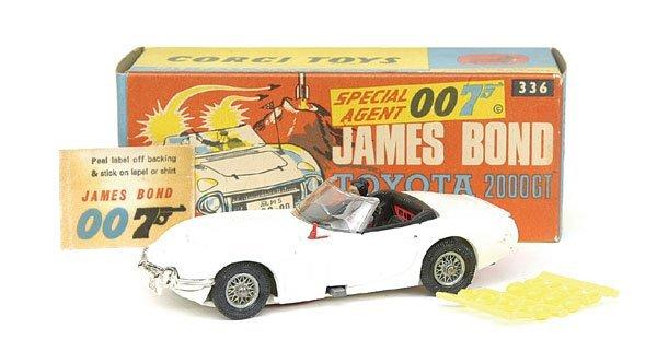 1518: No.336 Corgi James Bond Toyota 2000GT