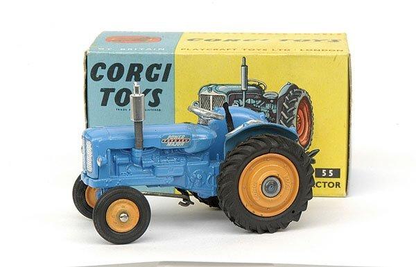 1684: Corgi No.55 Fordson Power Major Tractor