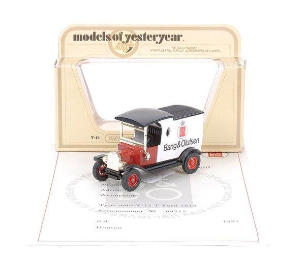 """1: Matchbox MOY Y12 Ford Model T """"Bang & Olufsen"""""""