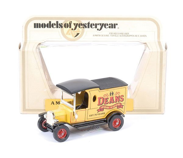 """2: Matchbox MOY Y12 Ford Model T """"Deans For Toys"""""""