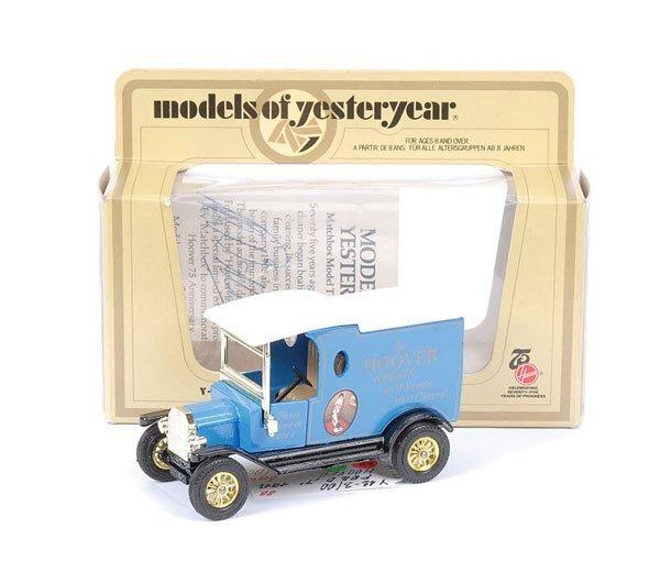 "4: Matchbox MOY Y12 Ford Model T ""Hoover"""