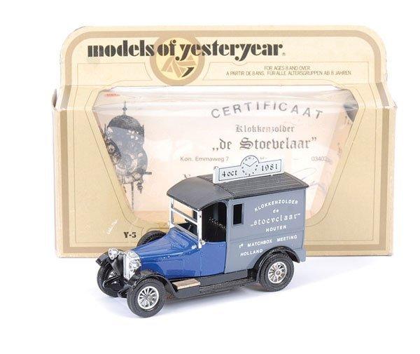 """6: Matchbox MOY Y5 Talbot Van """"1st Holland Meet"""""""