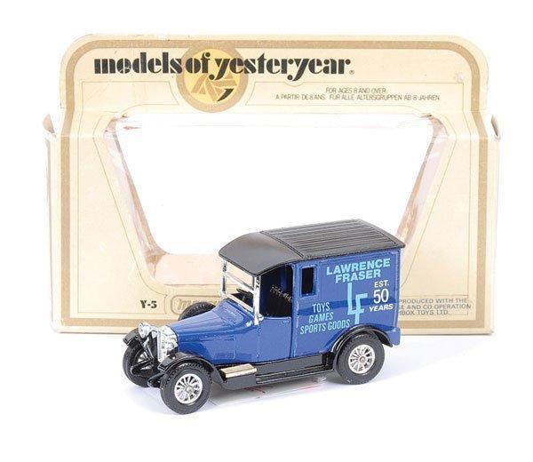 """7: Matchbox MOY Y5 Talbot Van """"Laurence Fraser"""""""