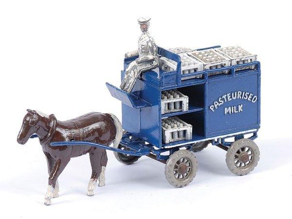 """157: Moko Milk Cart """"Pasteurised Milk"""""""