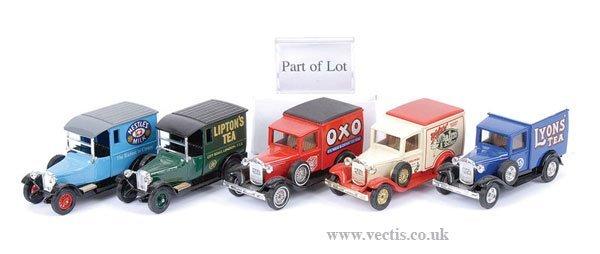 1001: Matchbox MOY - A Group of Vans