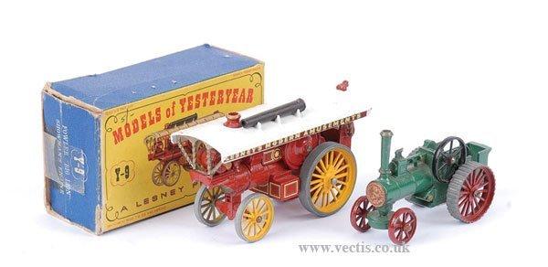 1016: Matchbox MOY Y9 Fowler Showman's Engine