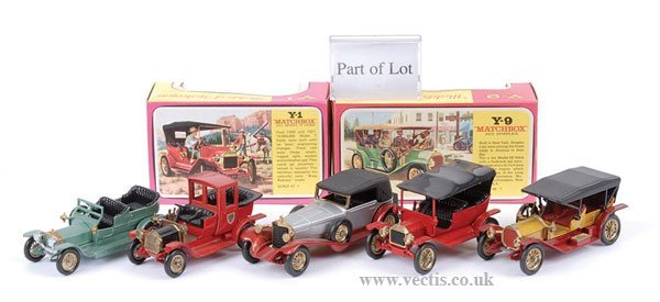 1019: Matchbox MOY Y13 Daimler & Others