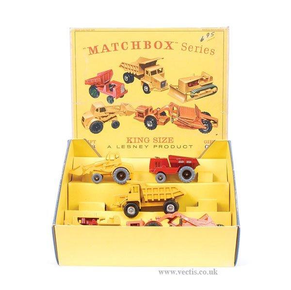 1327: Matchbox Kingsize G8 Construction Gift Set