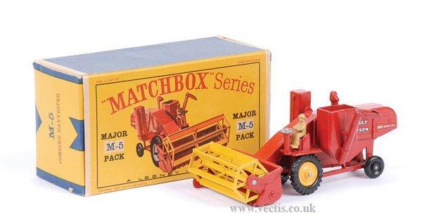 1330: Matchbox M5 Massey Ferguson Combine