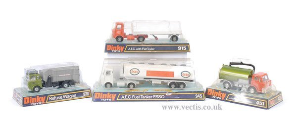 2005: Dinky AEC and Other Lorries