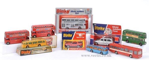 2009: Dinky - A Mixed Group of Buses