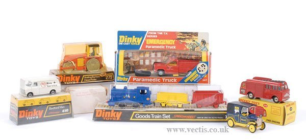 2011: Dinky Fire Service and Commercial Vehicles
