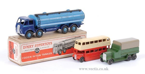 2012: Dinky No.504 Foden Tanker & Others