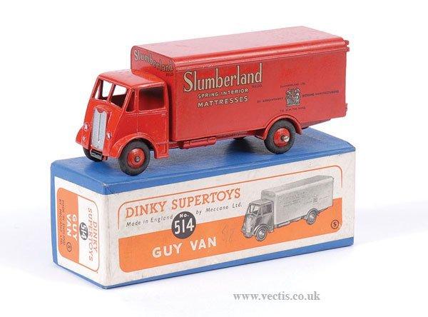 """2013: Dinky No.514 Guy Van """"Slumberland"""""""