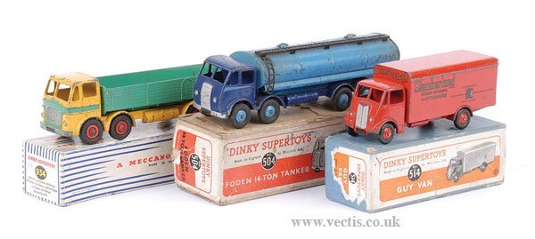 2015: Dinky Guy Foden and Leyland Lorries