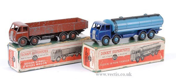 2016: Dinky - A Pair of Boxed Foden Lorries