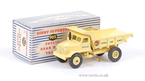 2018: Dinky No.965 Euclid Rear Dump Truck