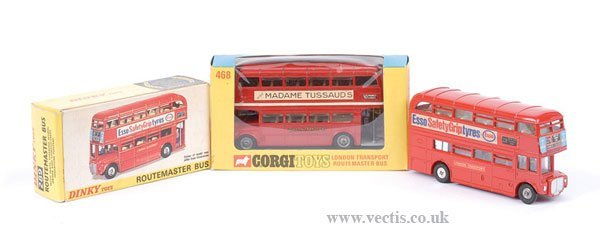 2019: Dinky and Corgi Routemaster Buses