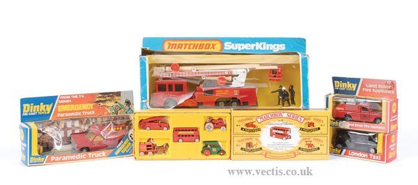 2023: Dinky and Matchbox Fire Vehicles & Others