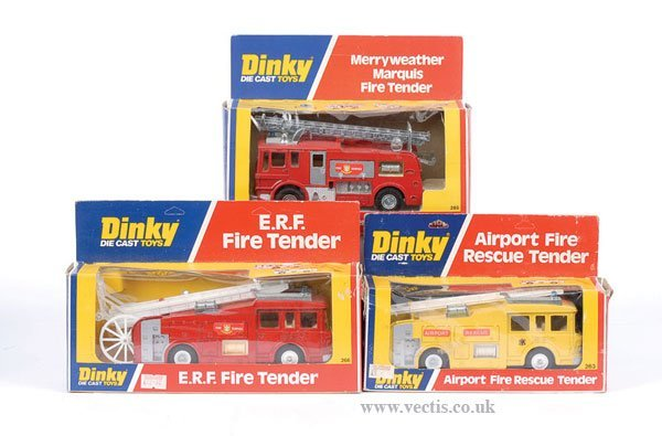 2024: Dinky - A Group of Fire Engines