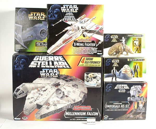 3001: Kenner Star Wars Figures & Accessories