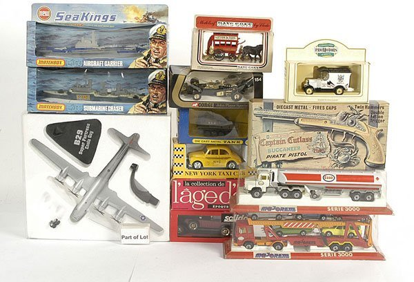 3007: A Miscellaneous Group of Diecast Models