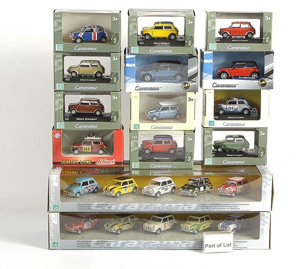 3014: Cararama - A Group of 1/43rd scale Models