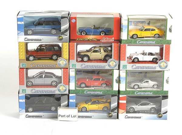 3015: Cararama - A Group of 1/43rd scale Models