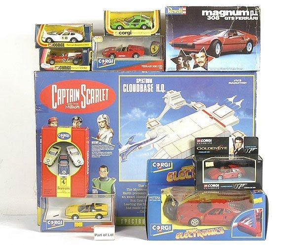 3017: Captain Scarlet Spectrum Cloudbase HQ Set