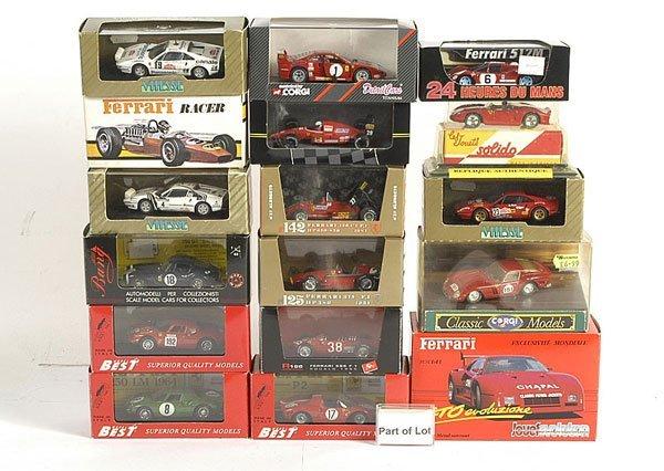 3019: A Group of Ferrari Models