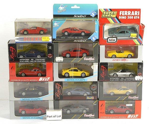 3021: A Group of Ferrari Models