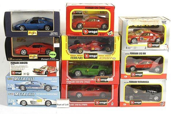 3022: A Group of Ferrari Models