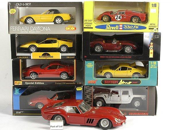 3023: A Group of Ferrari Models