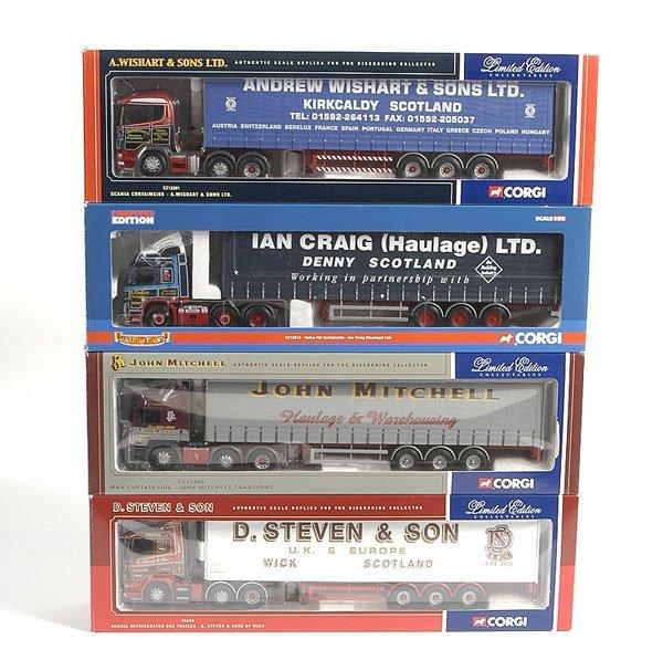3145: Corgi Modern Trucks - A Group of 4