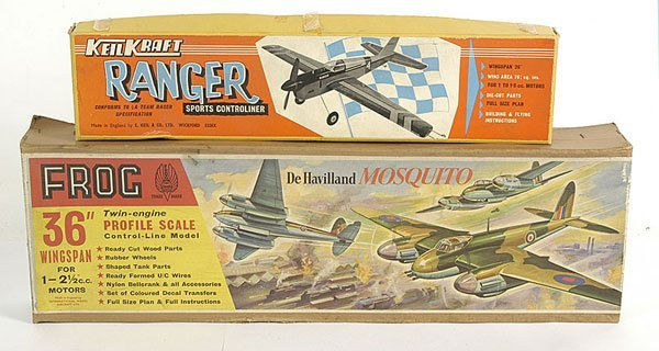3504: Frog Haviland Mosquito Twin Engine Kit