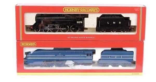4008: Hornby - 2 x LMS Steam Locos