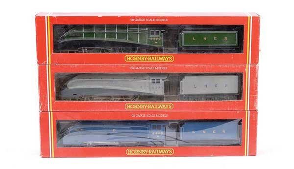 4013: Hornby - 3 x 4-6-2 LNER A4 Class Locos