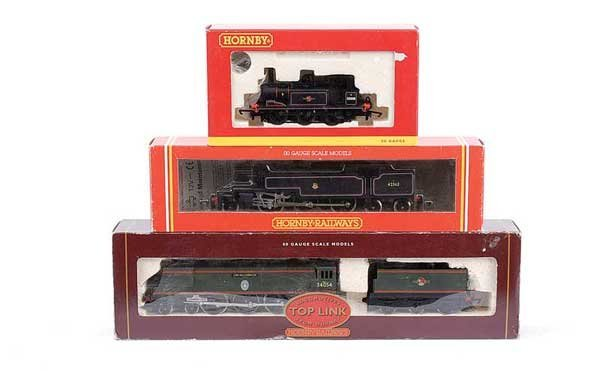 4017: Hornby - A Trio of BR Steam Locos