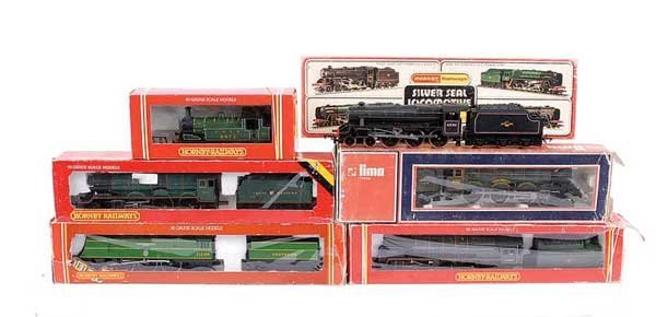 4018: Hornby - A Group of Steam Locos