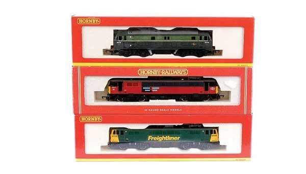 4021: Hornby - 3 x Overhead Electric & Diesel Locos